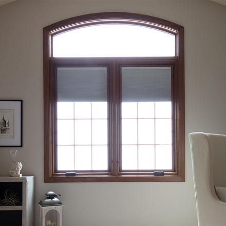 lifestyle series casement window two windows dark wood